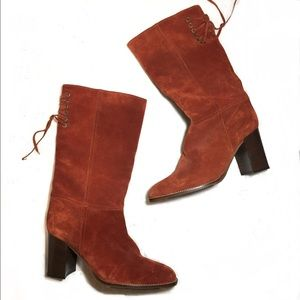 Coach Coty Suede Boots